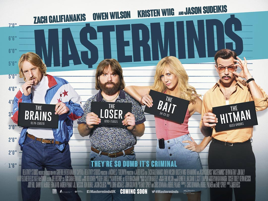 Masterminds Poster #6