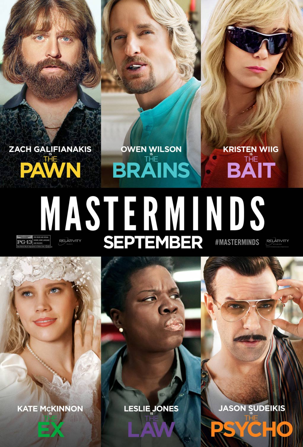 Masterminds Poster #7