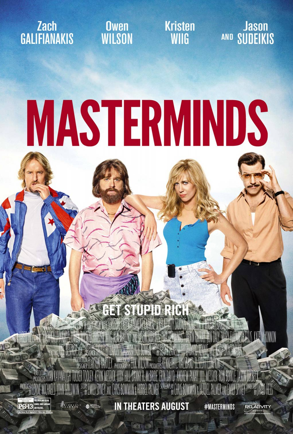 Masterminds Poster #8