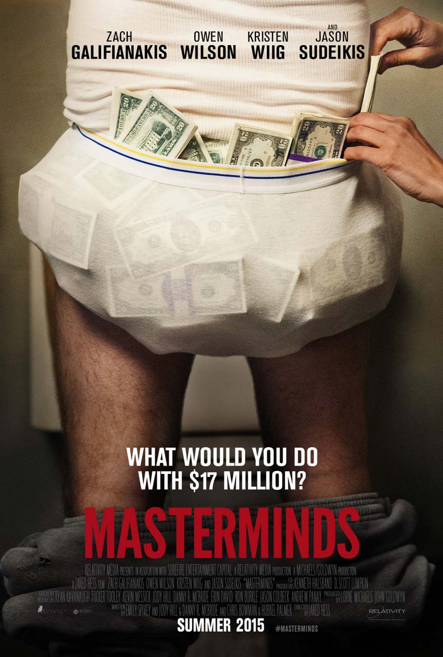 Masterminds Poster #1