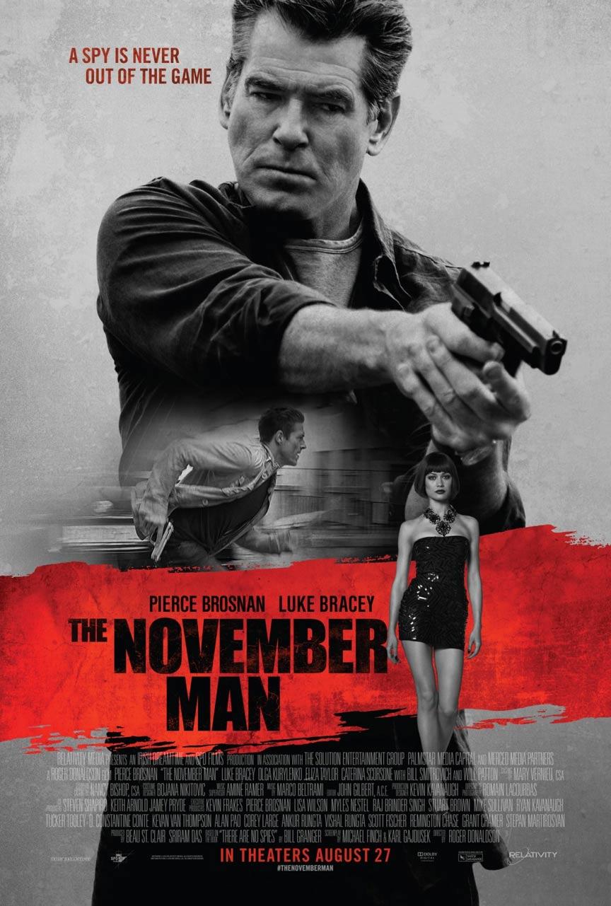 The November Man Poster #1