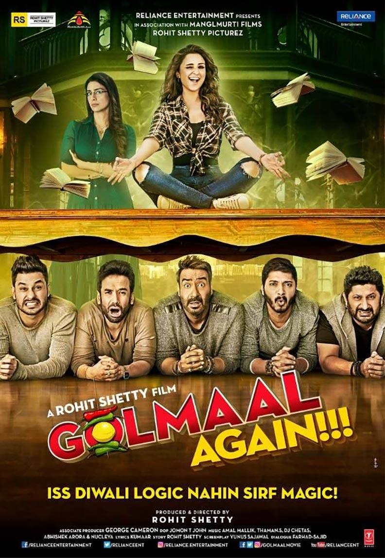 Golmaal Again Poster #1