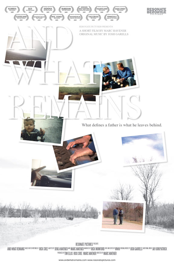And What Remains Poster #1