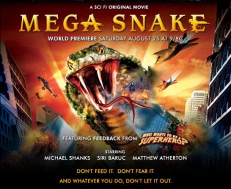 Mega Snake Poster #1