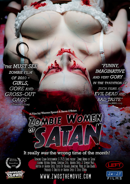 Zombie Women of Satan Poster #1