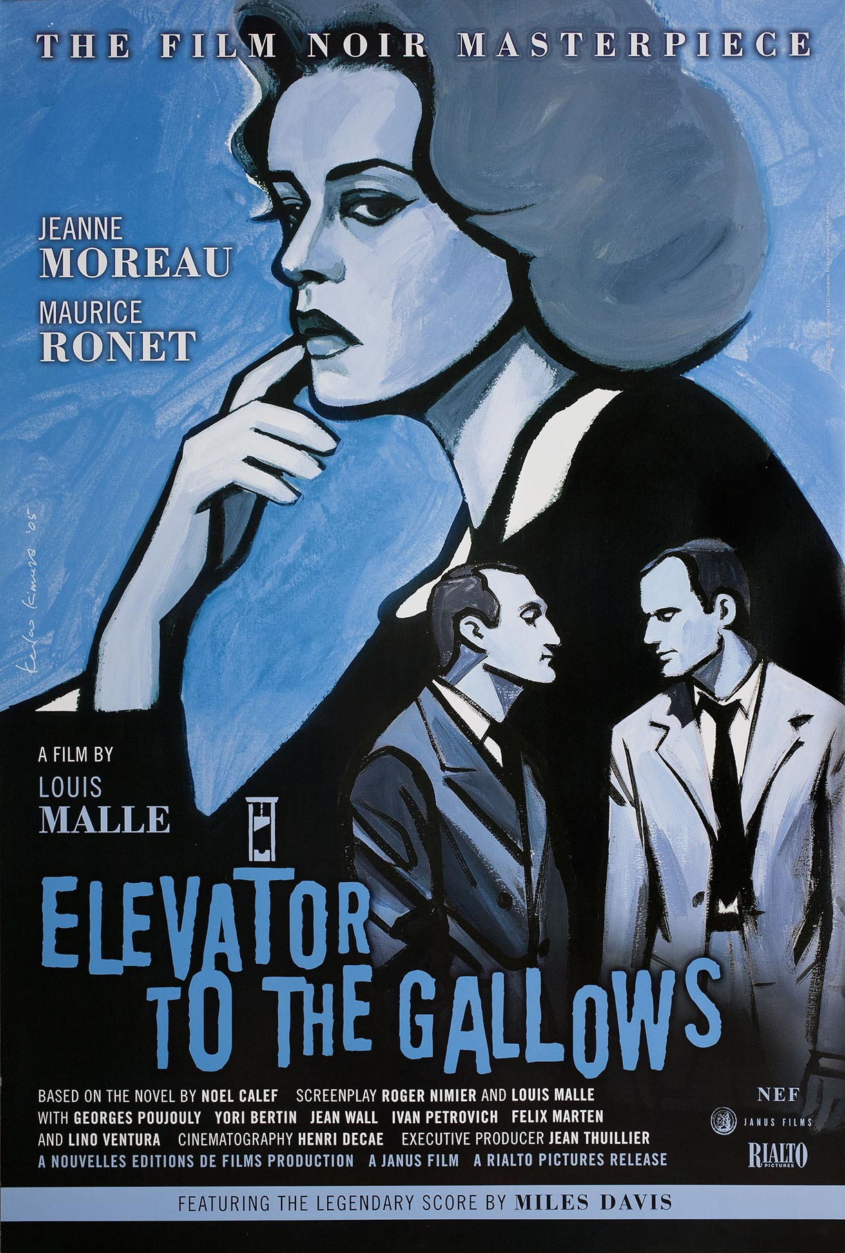 Elevator to the Gallows Poster #1