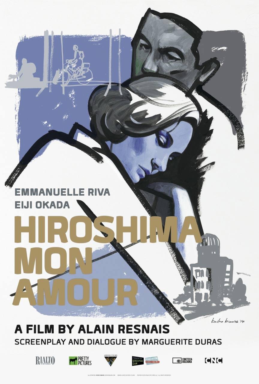 Hiroshima Mon Amour Poster #1
