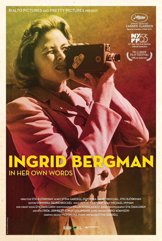 Ingrid Bergman in Her Own Words Poster #1
