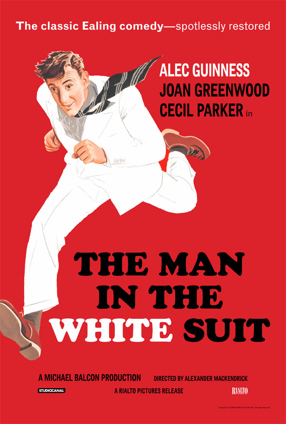 The Man in the White Suit Poster #1