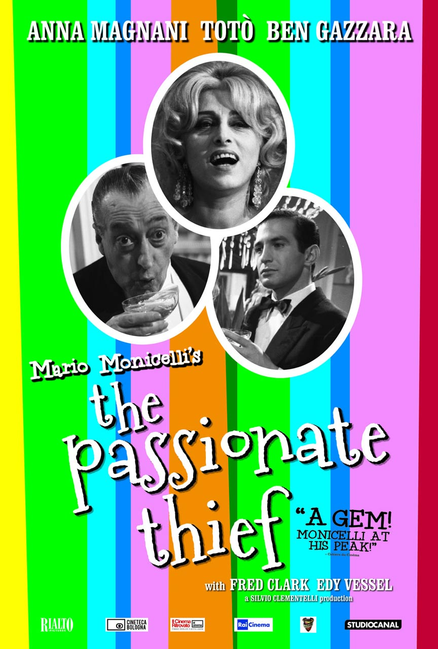 The Passionate Thief Poster #1