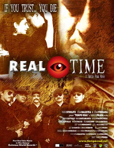 Real Time (Tiempo real) Poster #1