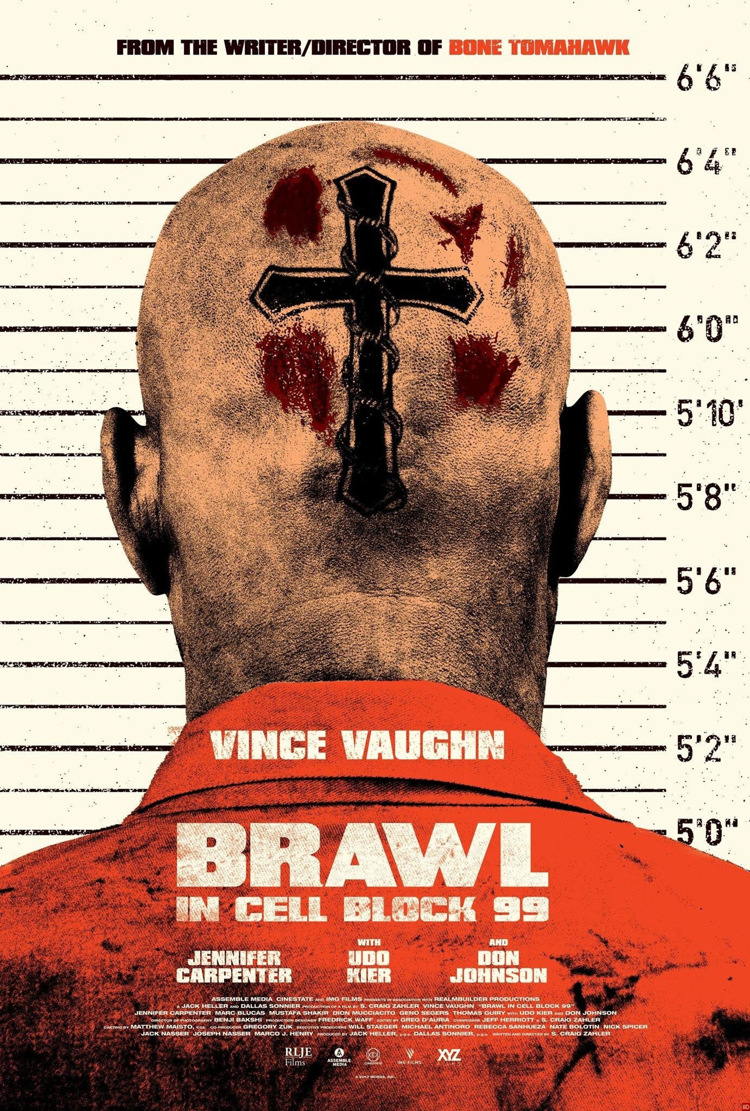 Brawl in Cell Block 99 Poster #1