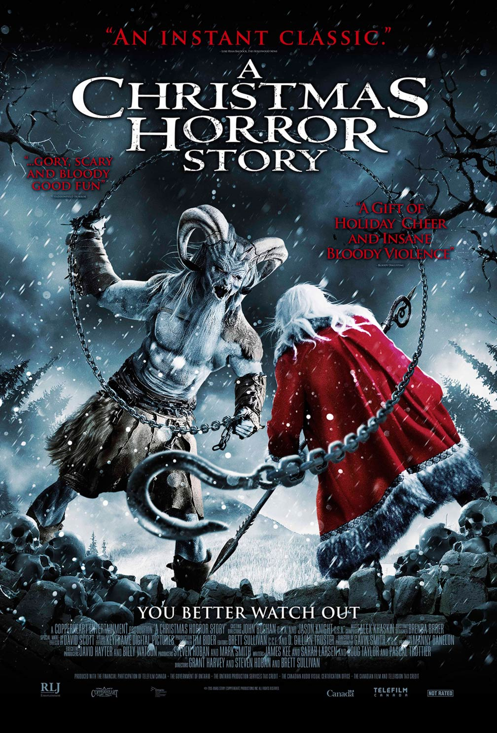 A Christmas Horror Story Poster #1