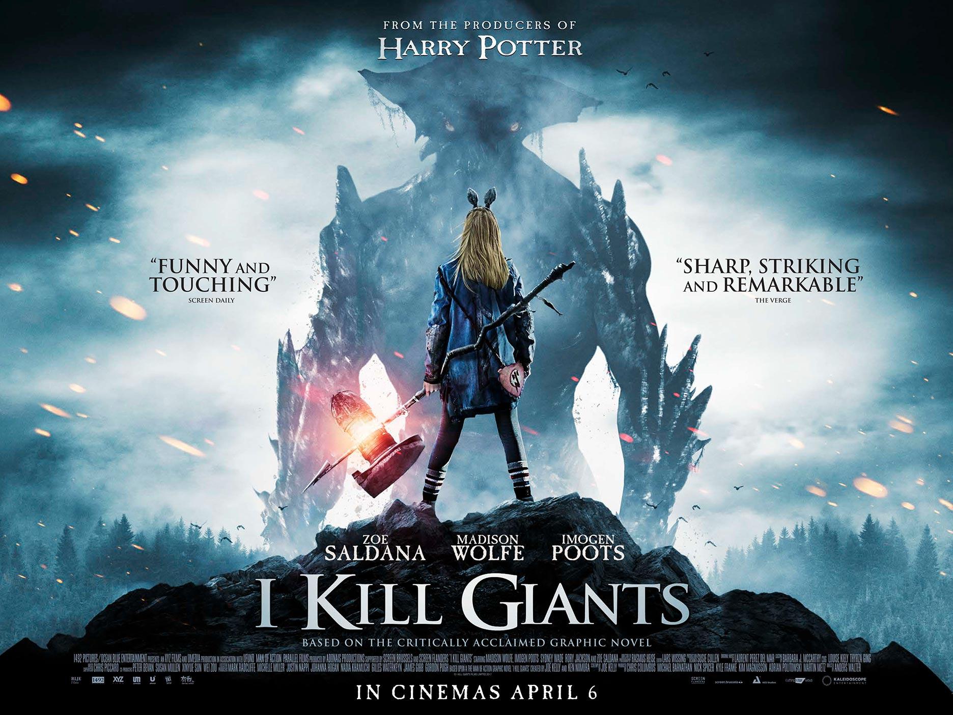 I Kill Giants (2018) Poster #1 - Trailer Addict
