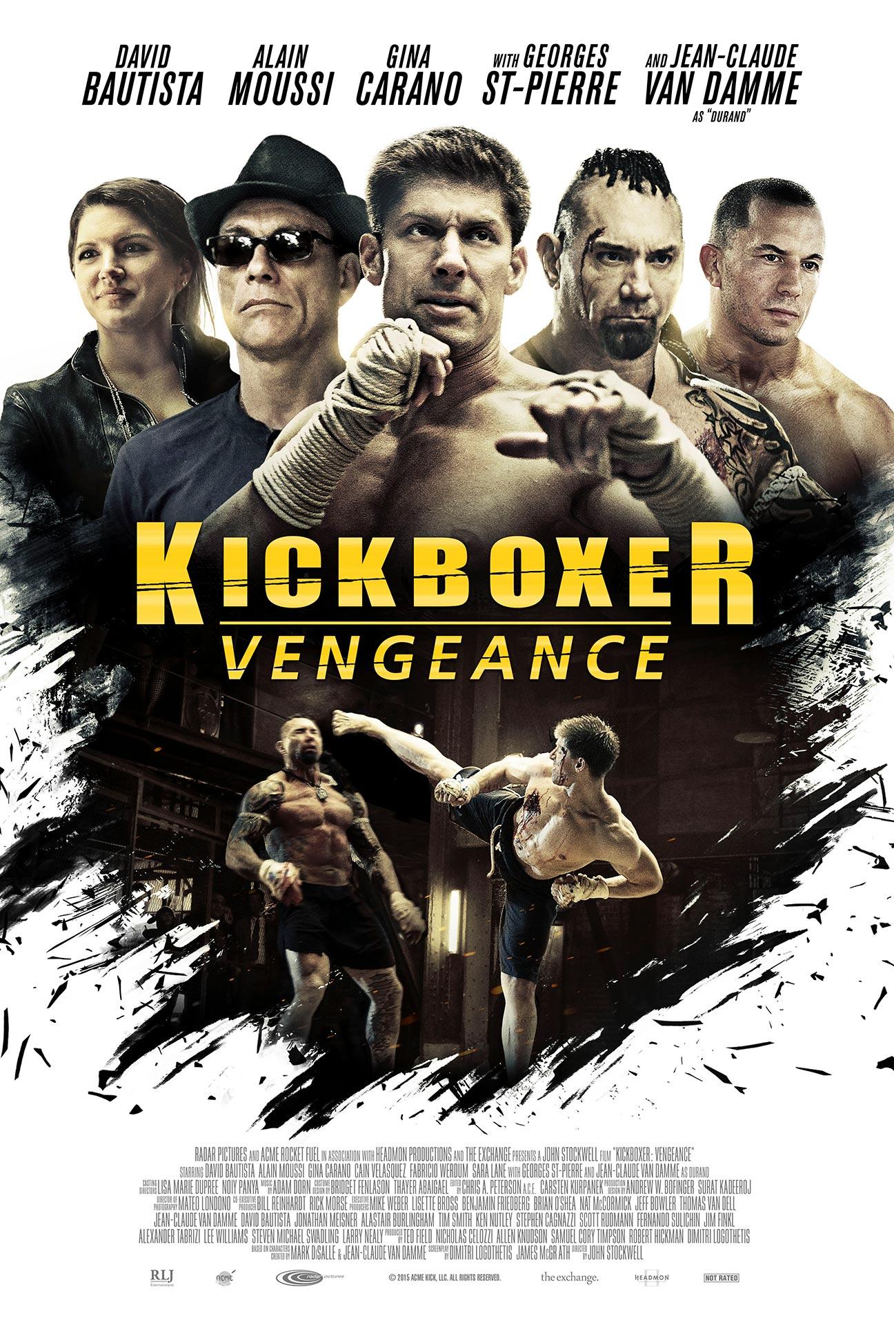 Kickboxer: Vengeance Poster #1