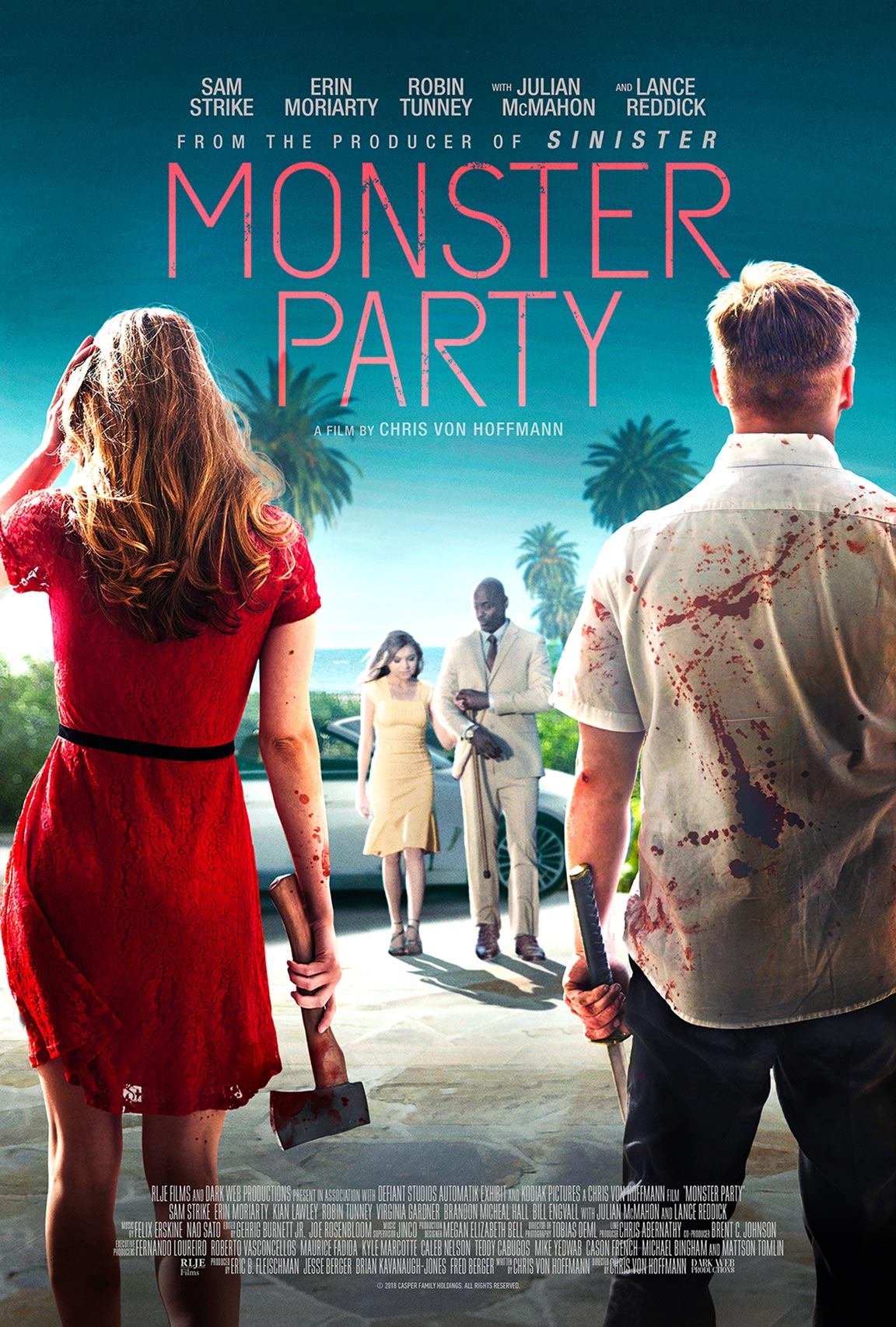 Monster Party Poster #1