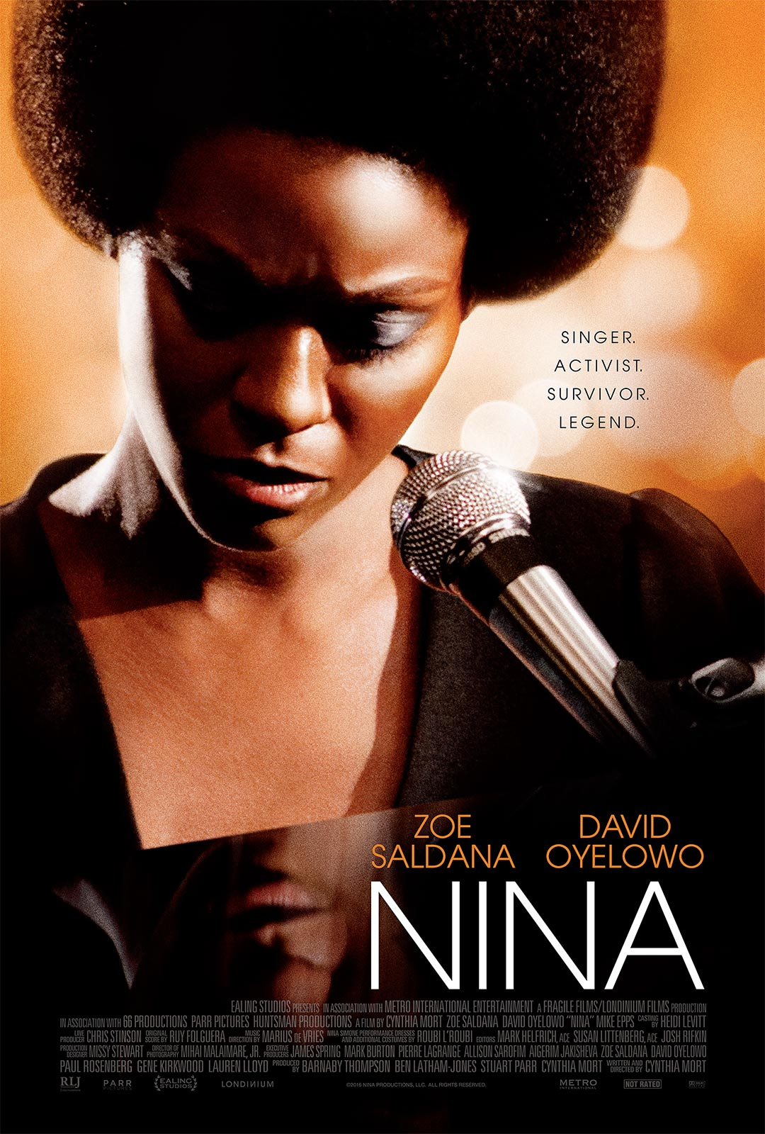 Watch Trailer To Zoe Saldana's Nina Simone Film, Nina - blackfilm ...