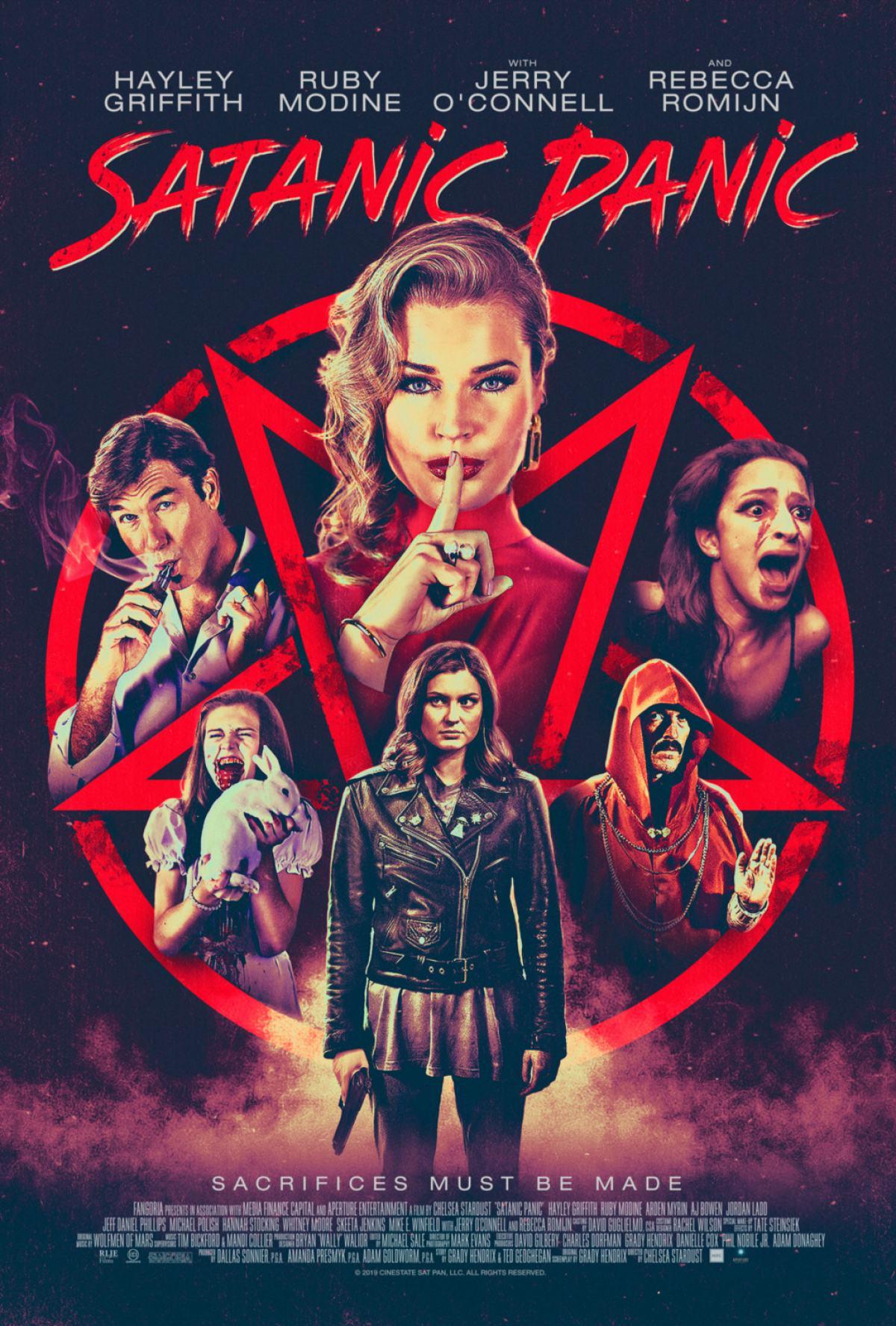 Satanic Panic Poster #1