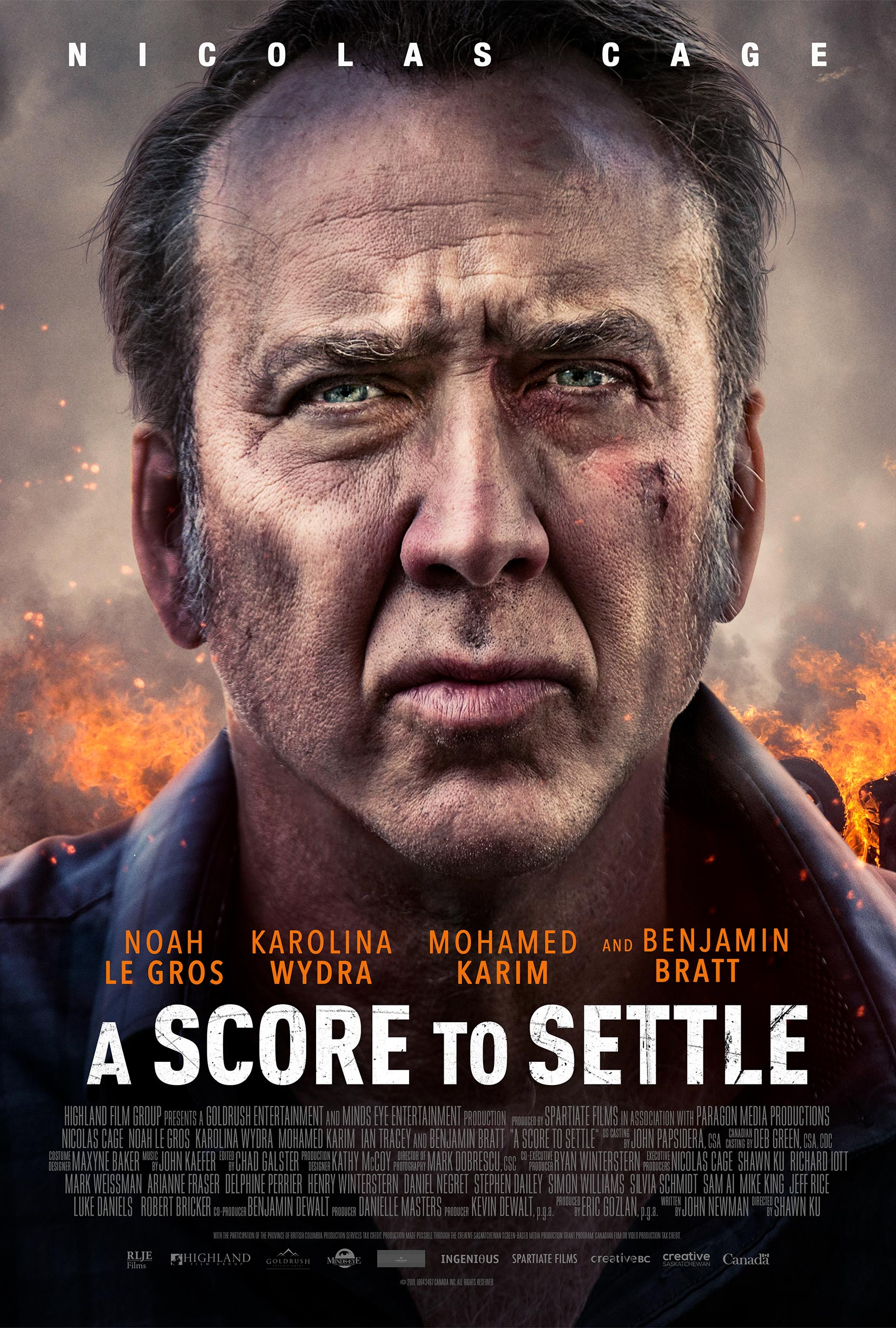A Score to Settle Poster #1