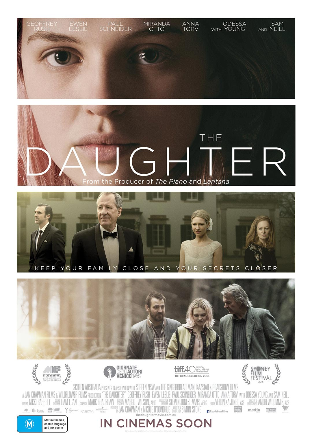 The Daughter Poster #1