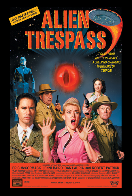 Alien Trespass Poster #1