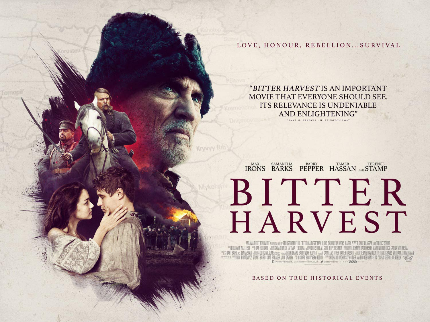 Image result for bitter harvest poster