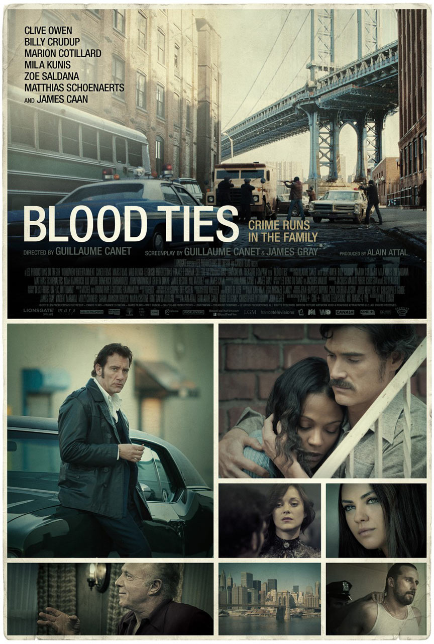 Blood Ties Poster #10