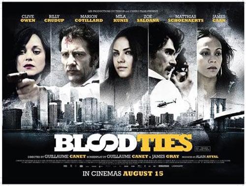 Blood Ties Poster #13