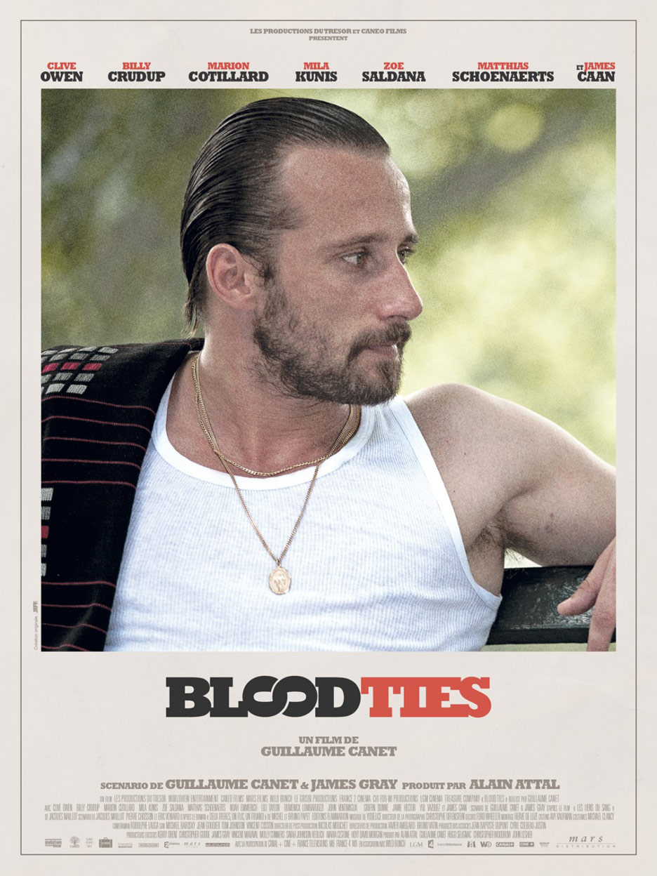 Blood Ties Poster #5