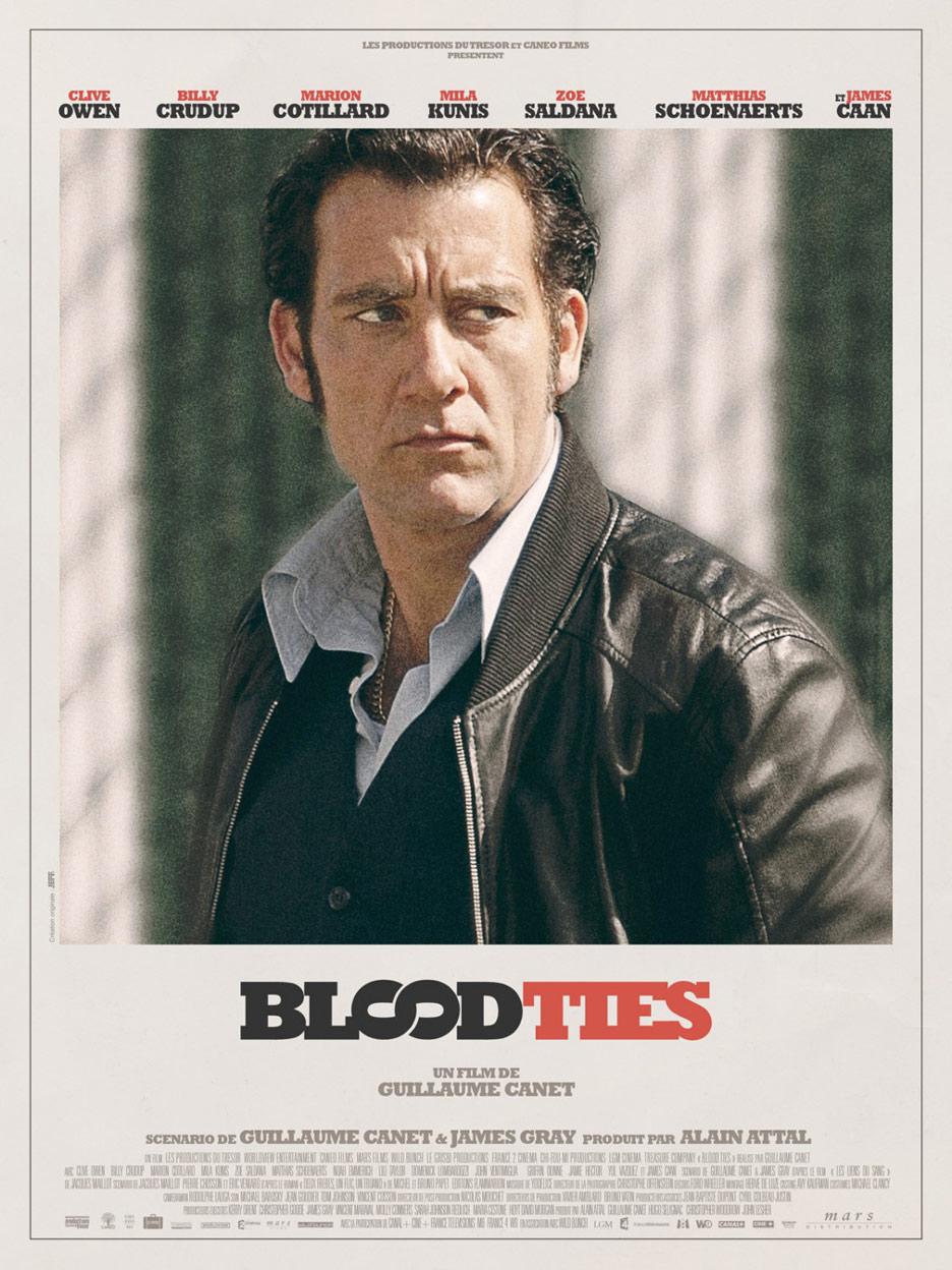 Blood Ties Poster #8