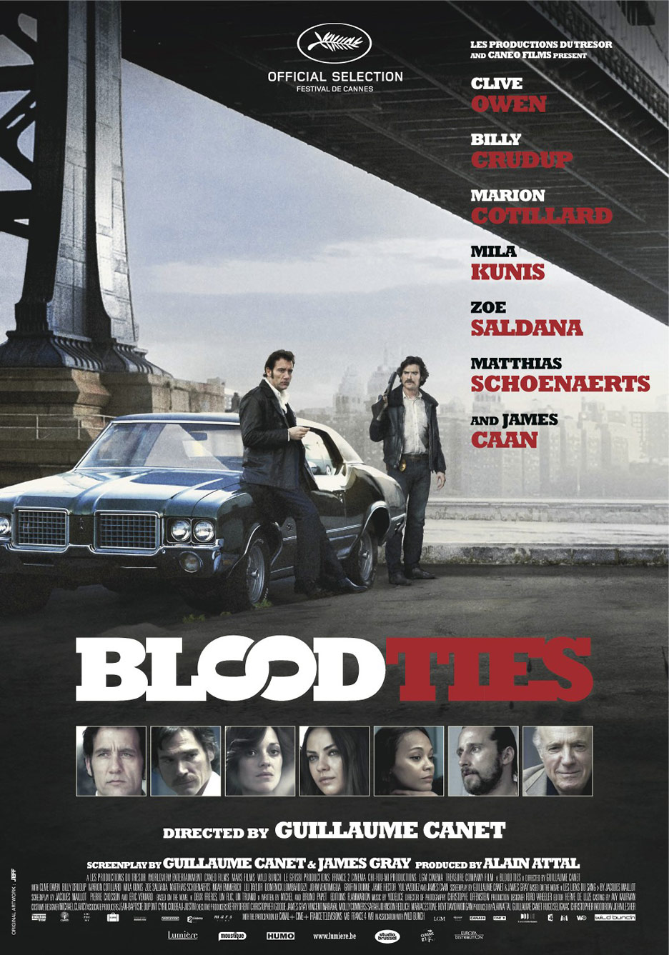Blood Ties Poster #9