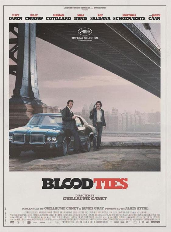 Blood Ties Poster #1