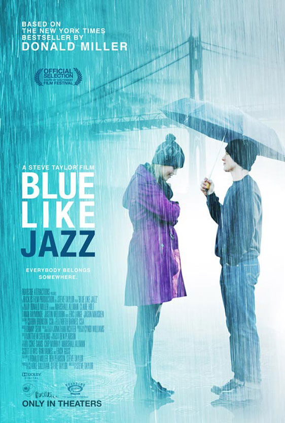 Blue Like Jazz Poster #1