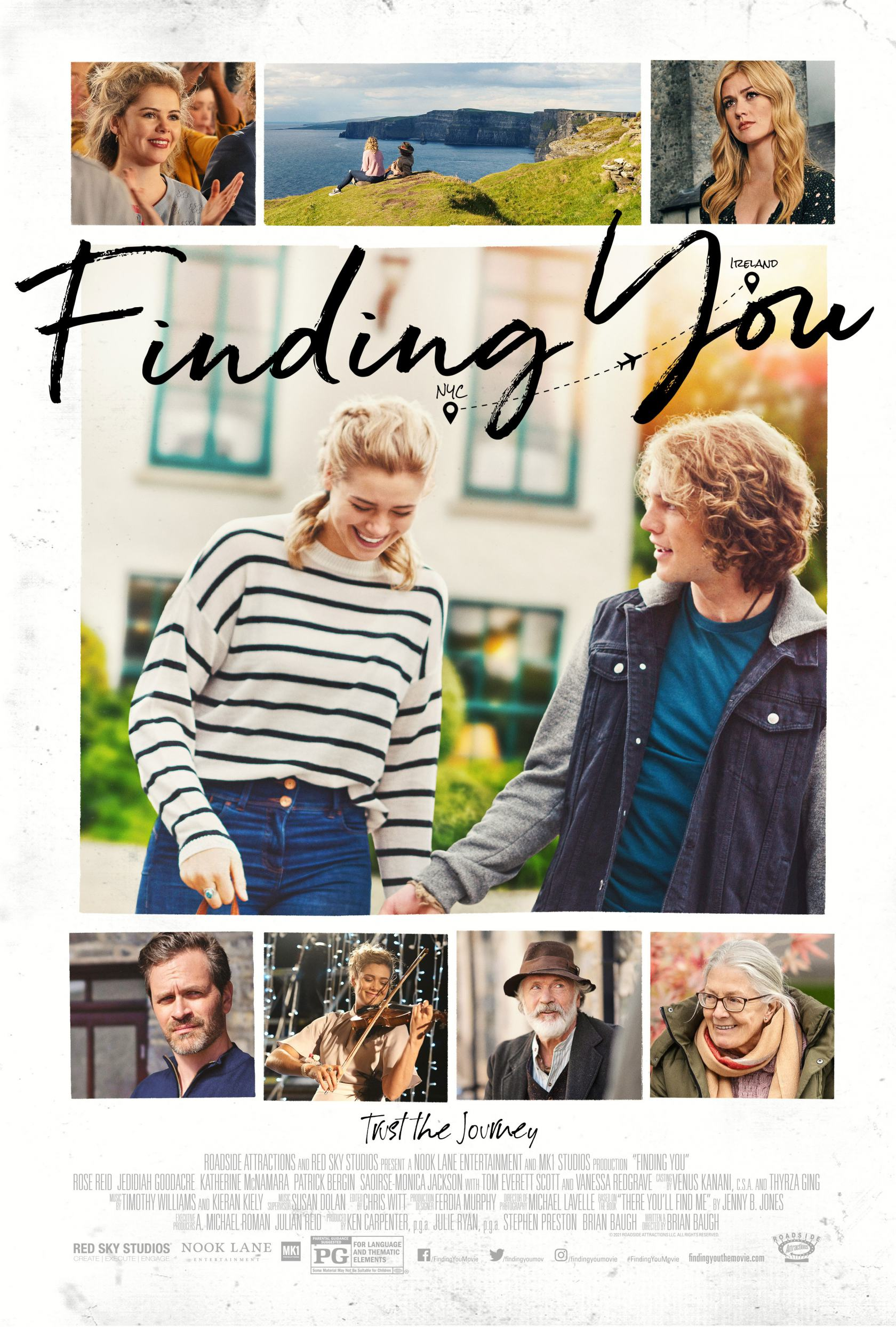 Finding You Poster #1