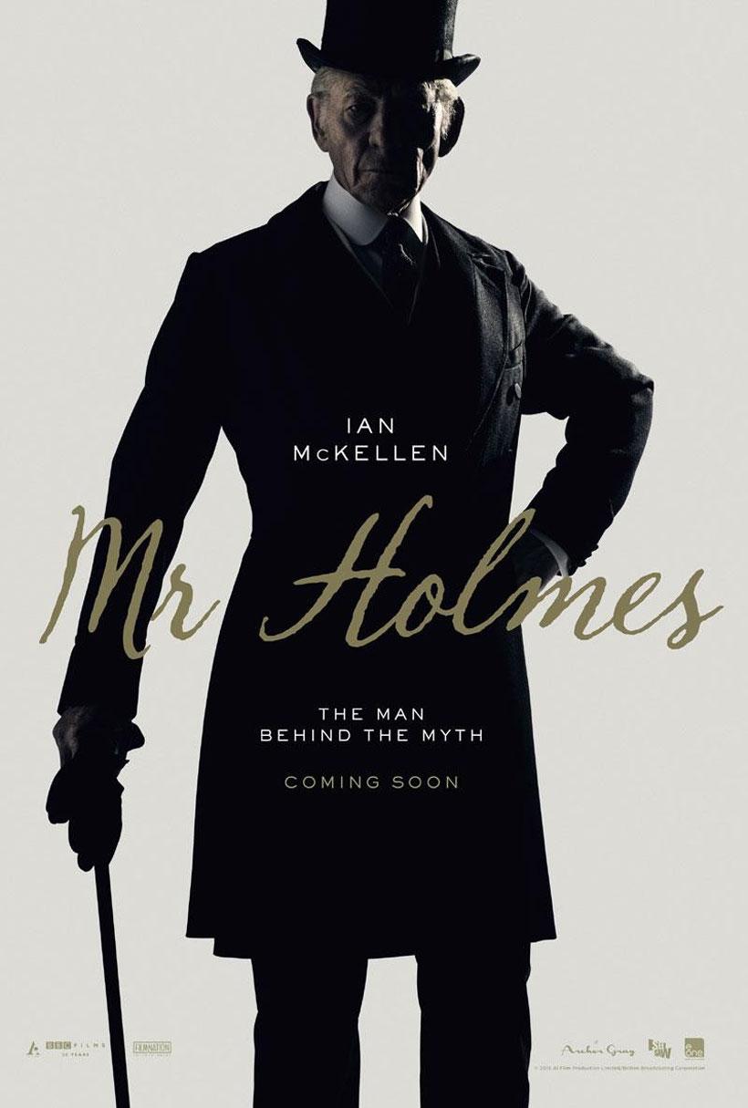 Mr. Holmes Poster #1