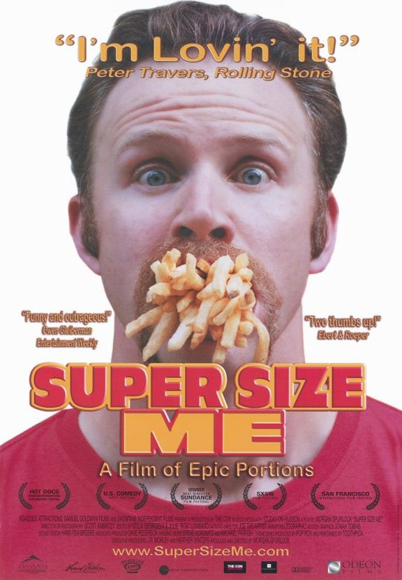 Super Size Me Poster #1
