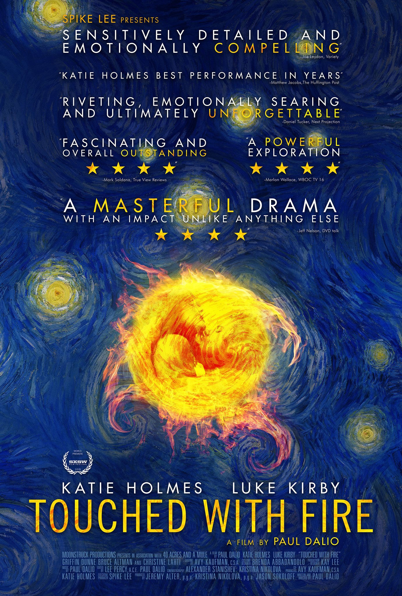 Touched With Fire Poster #1