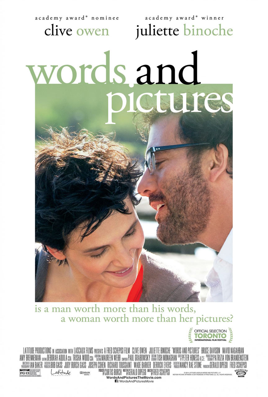 Words and Pictures Poster #1