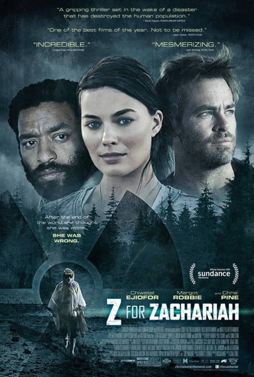 Z for Zachariah Poster #1