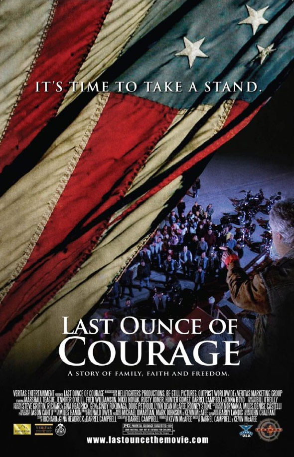 Last Ounce Of Courage Poster #1