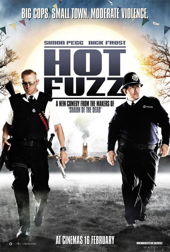 Hot Fuzz Poster #2