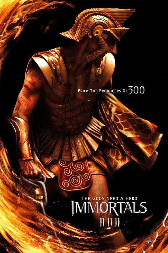 Immortals Poster #2
