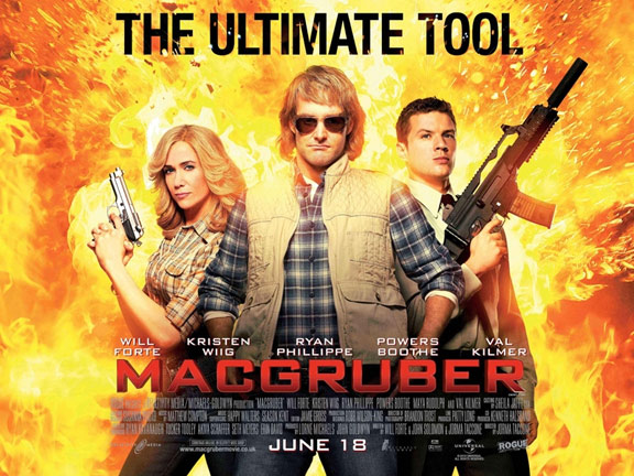 MacGruber Poster #3