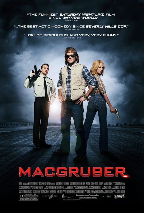 MacGruber Poster #1