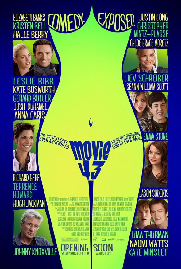 Movie 43 Poster #1