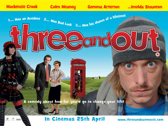 Three and Out Poster #1