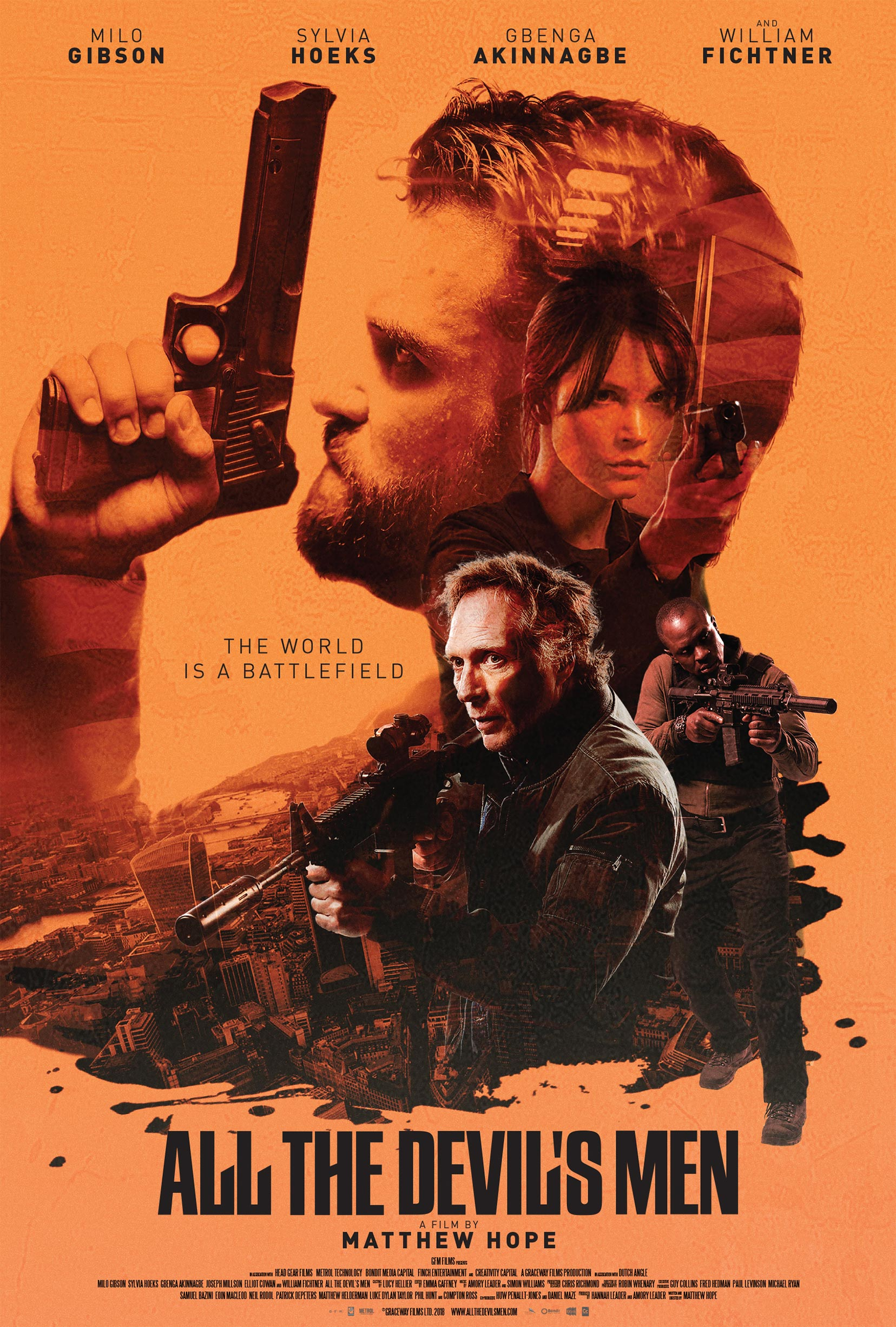 All The Devil's Men (2018) Poster #1