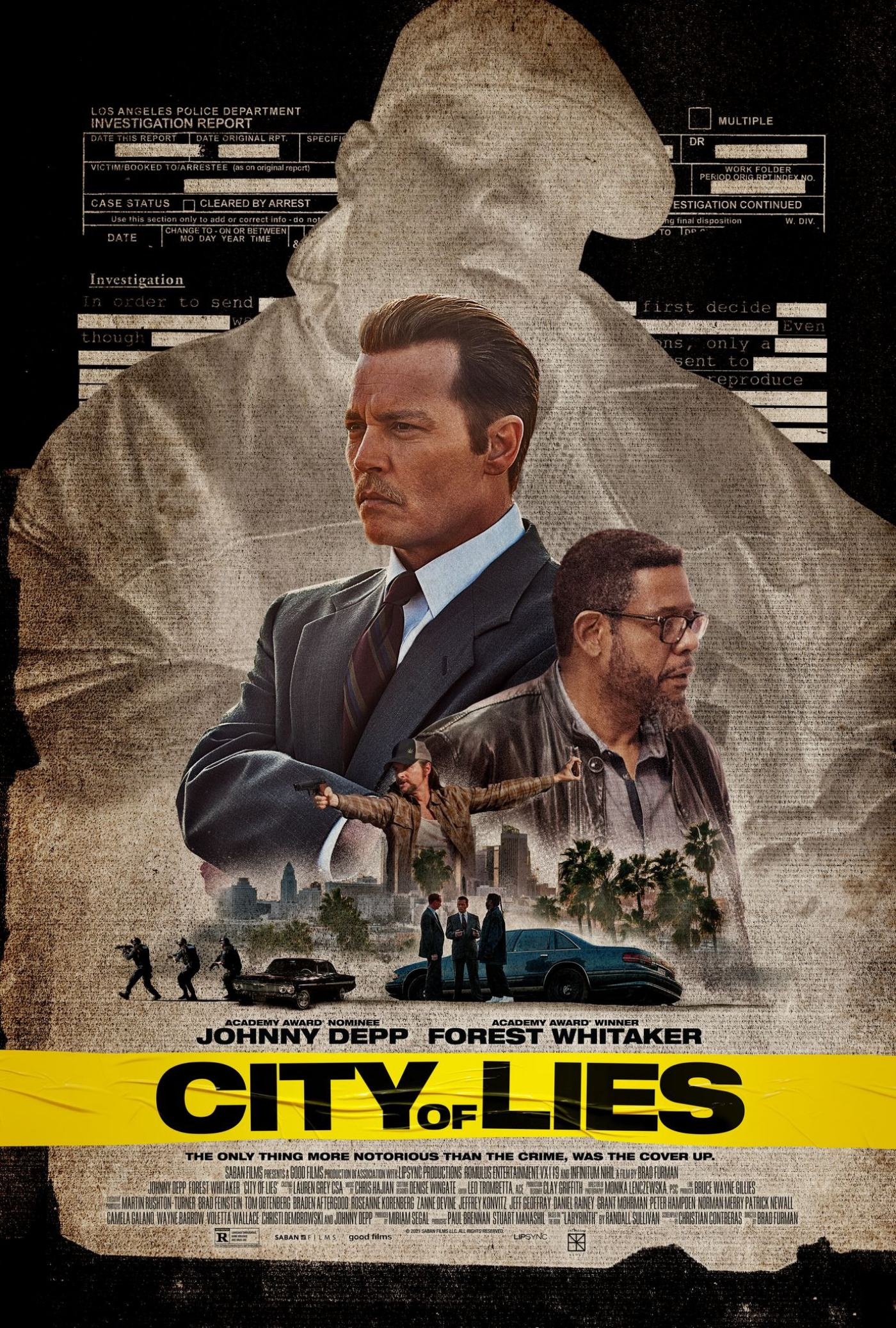 City of Lies Poster #1