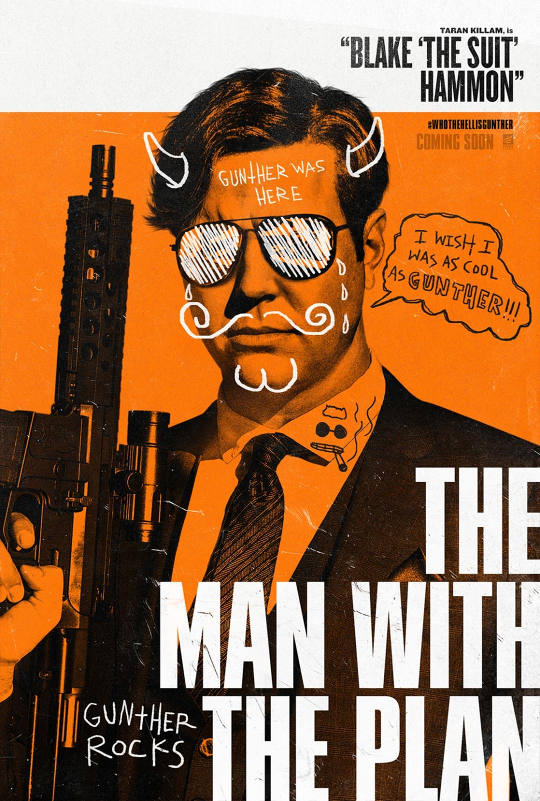 Killing Gunther Poster #3
