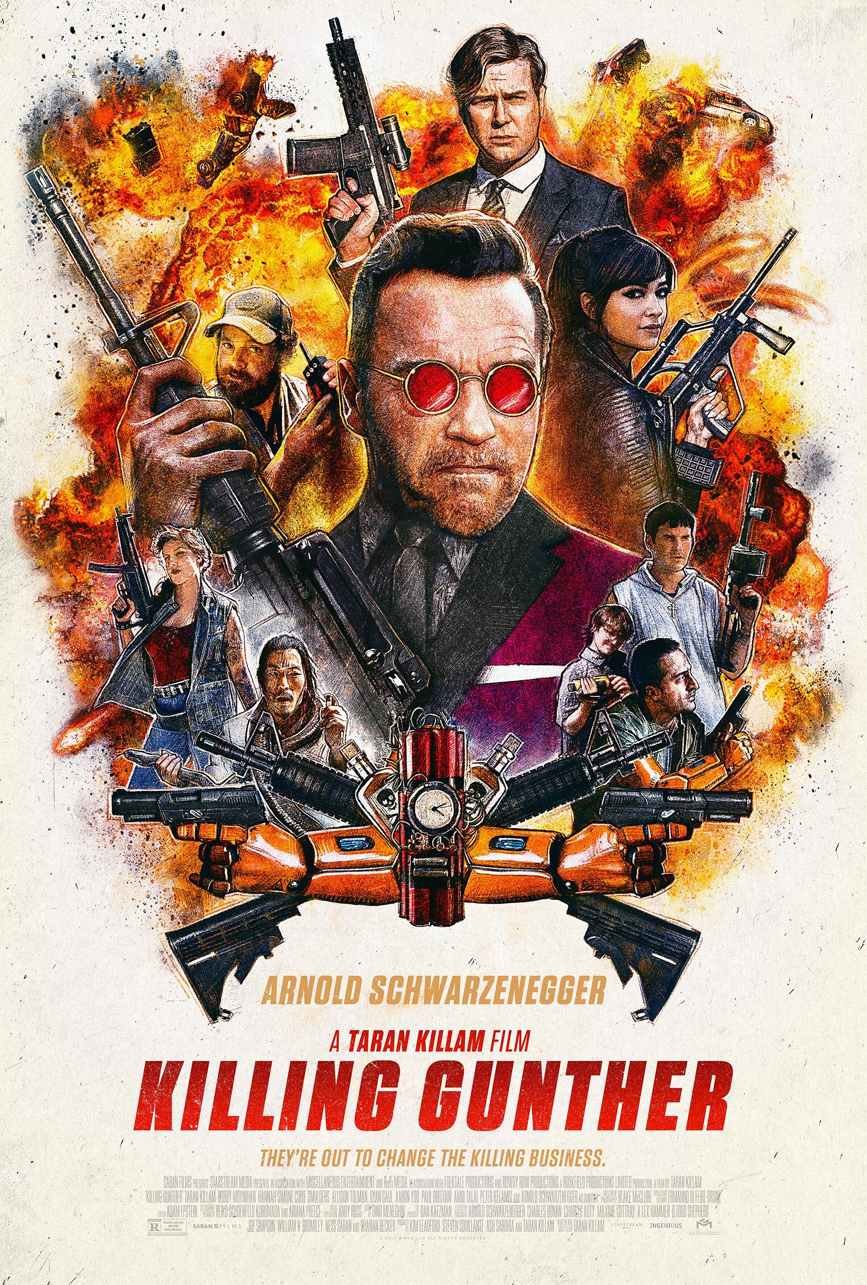 Killing Gunther Poster #1